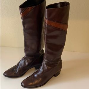 Kurt Geiger Riding Boots Vintage Made in Italy